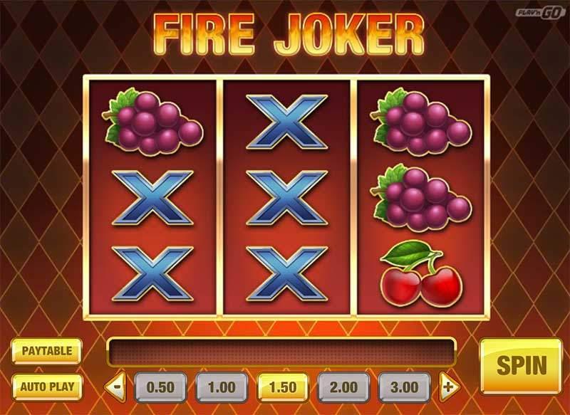Recenze automatu: online automat Fire Joker