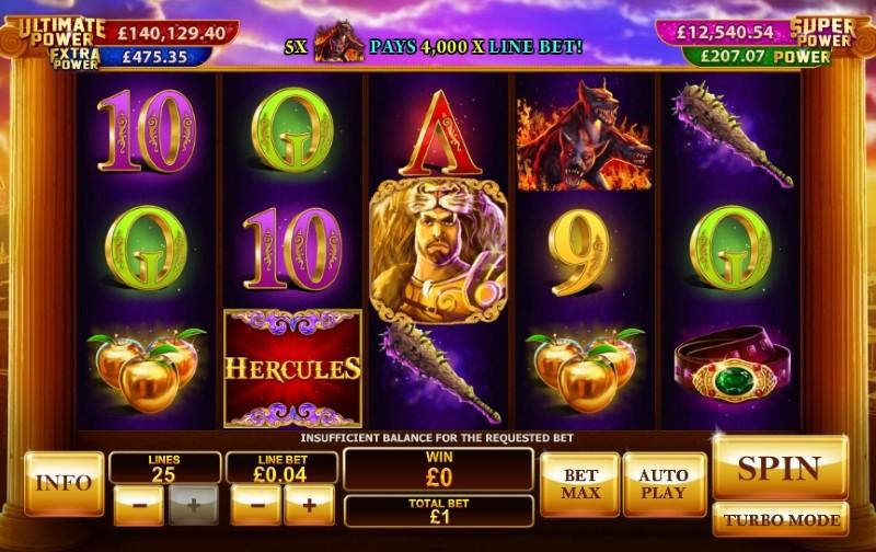 Prince of Olympus online automat – Recenze automatu