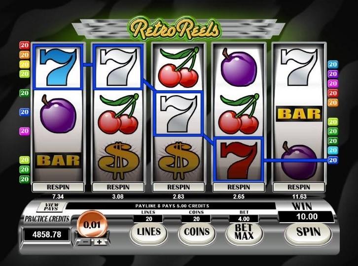 Retro Reels online automat – Recenze automatu