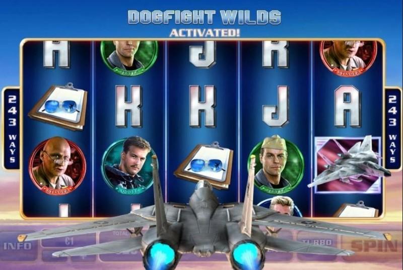 Top Gun online automat – Recenze automatu