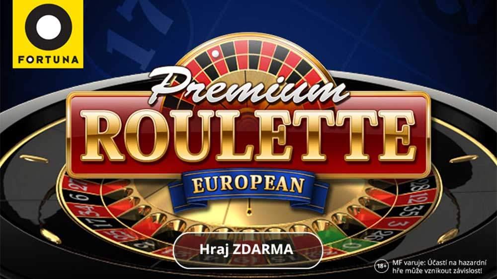 Fortuna Vegas – bonus 25 000 Kč na ruletu a automaty