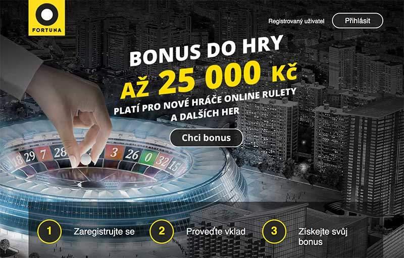 Fortuna Bonus 25000Kč