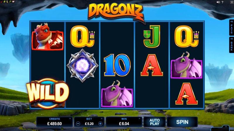 Výherní automat Dragonz