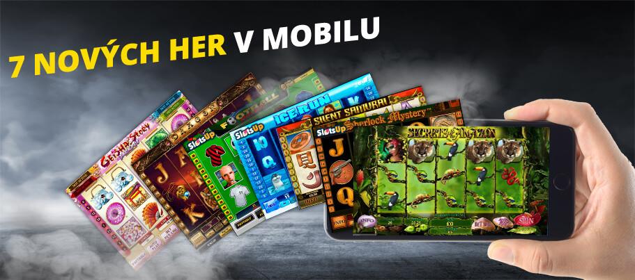 Fortuna Casino spustilo 7 nových mobilních her!