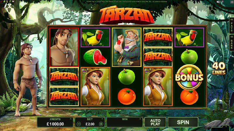 Výherní automat Tarzan