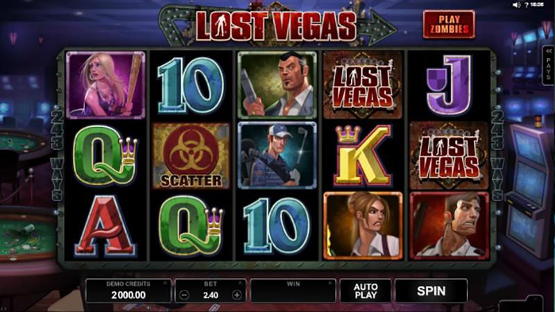 Výherní automat Lost Vegas