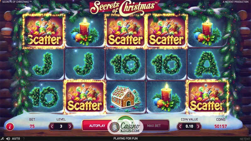 Secrets of Christmas Výherní Automat