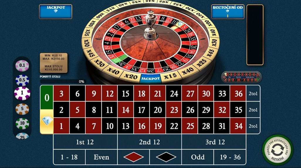 Fortuna Casino – co je a jak hrát Diamond Bet Ruleta?